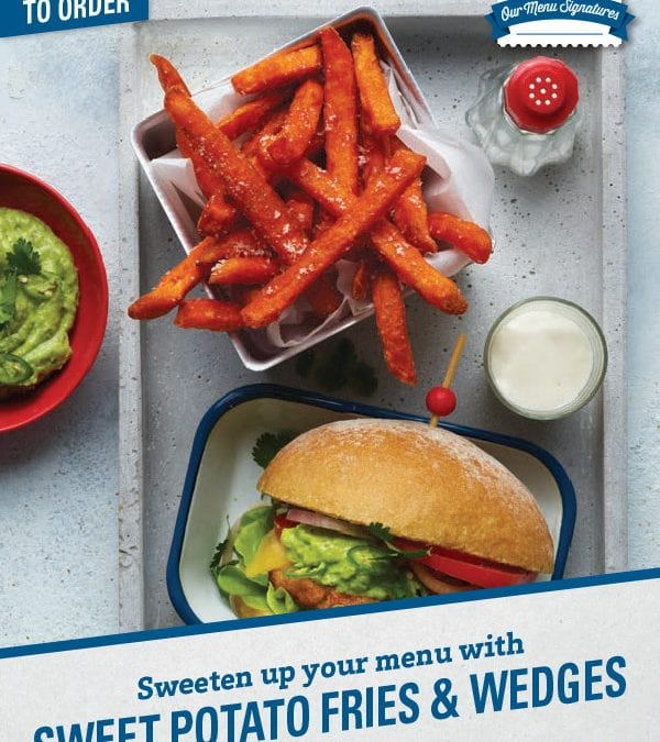Sweet Potato Fries & Wedges Brochure