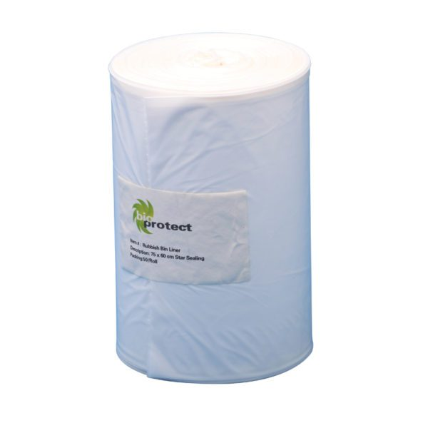 Rubbish Bin Liners 80cm L x 30cm W Gussets for expansion-0