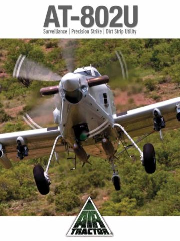 Air Tractor AT-802U Military COIN ISR Brochure