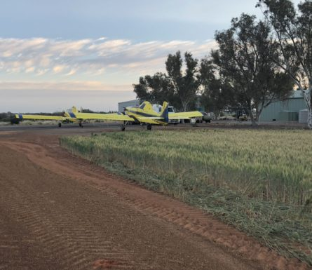 Agricultural Pilot – winter months of WA